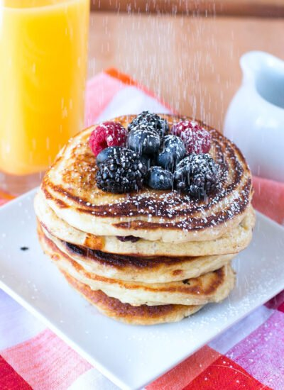 Buttermilk Pancakes – Easy Mixed Berry Recipe