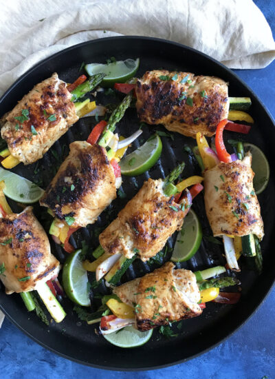 My Chicken and Vegetable Rollups Recipe