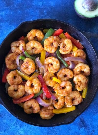 Shrimp Fajita Skillet Recipe