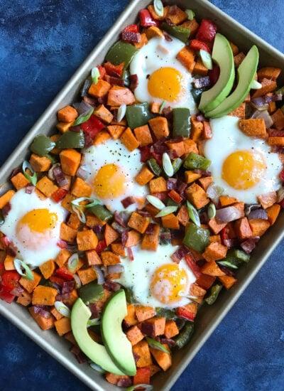 Delicious Sweet Potato Hash With Eggs