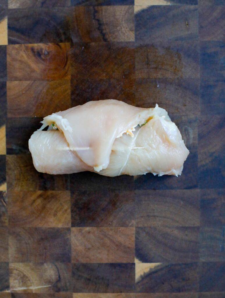 Rolled chicken breast