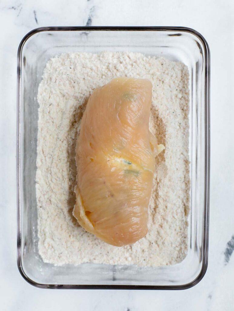 Chicken breadcrumbs.