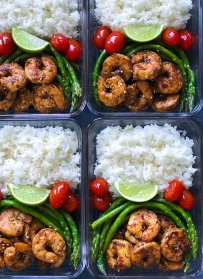 Blackened Shrimp Meal Prep is my favorite meal prep recipes