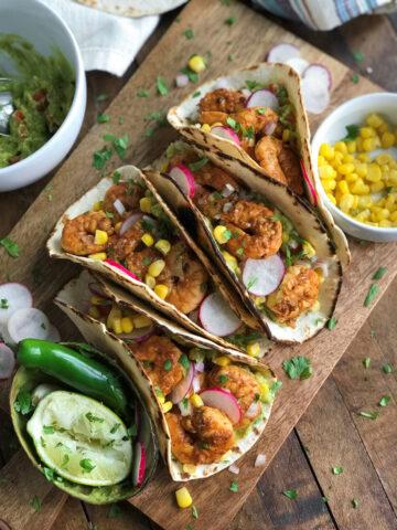 Chili Lime Shrimp Tacos