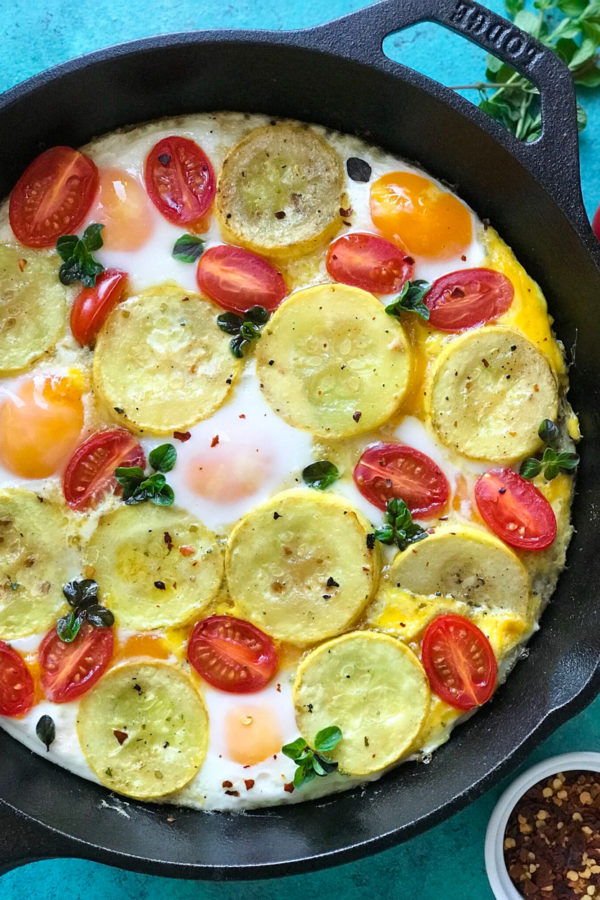 Squash and Eggs Brunch
