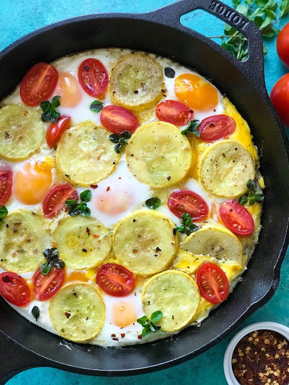 Squash and Eggs Brunch recipe