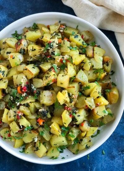 Lebanese Spicy Potatoes (Batata Harra, بطاطا حارة)