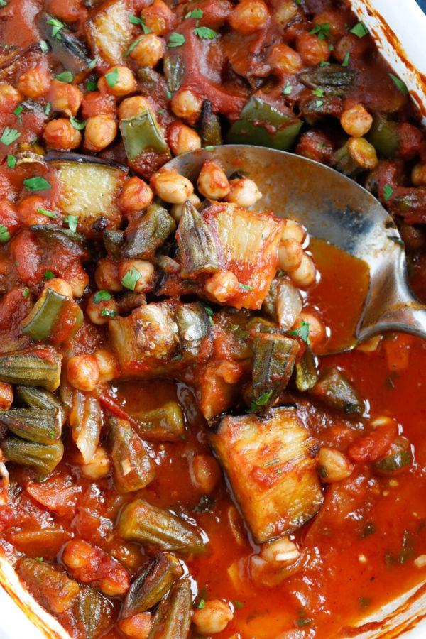 Maghmour (Lebanese Moussaka)