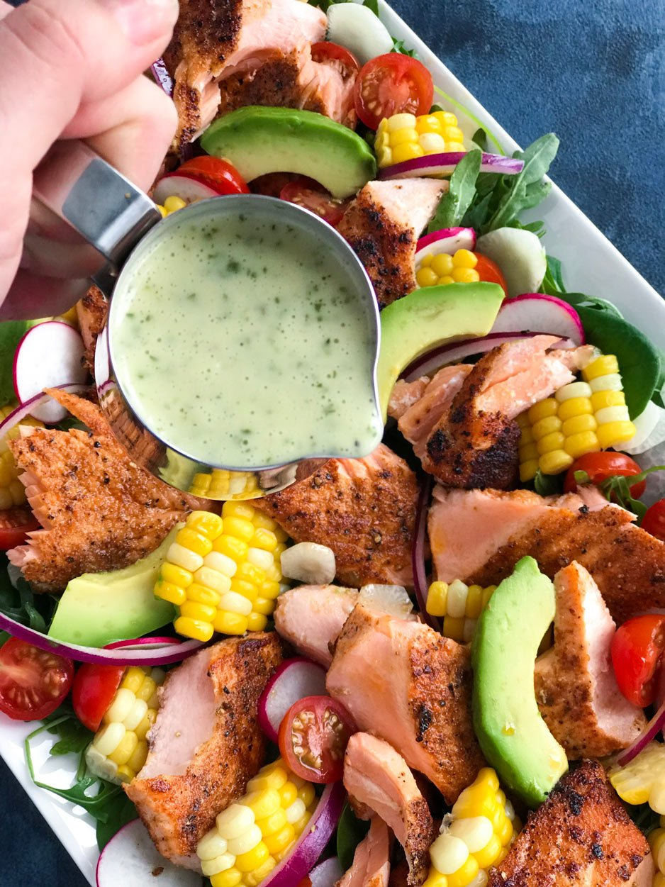 Spicy Salmon Salad Dressing