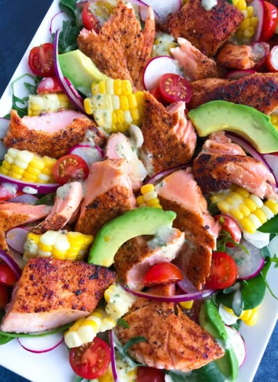 Spicy Salmon Salad Recipe