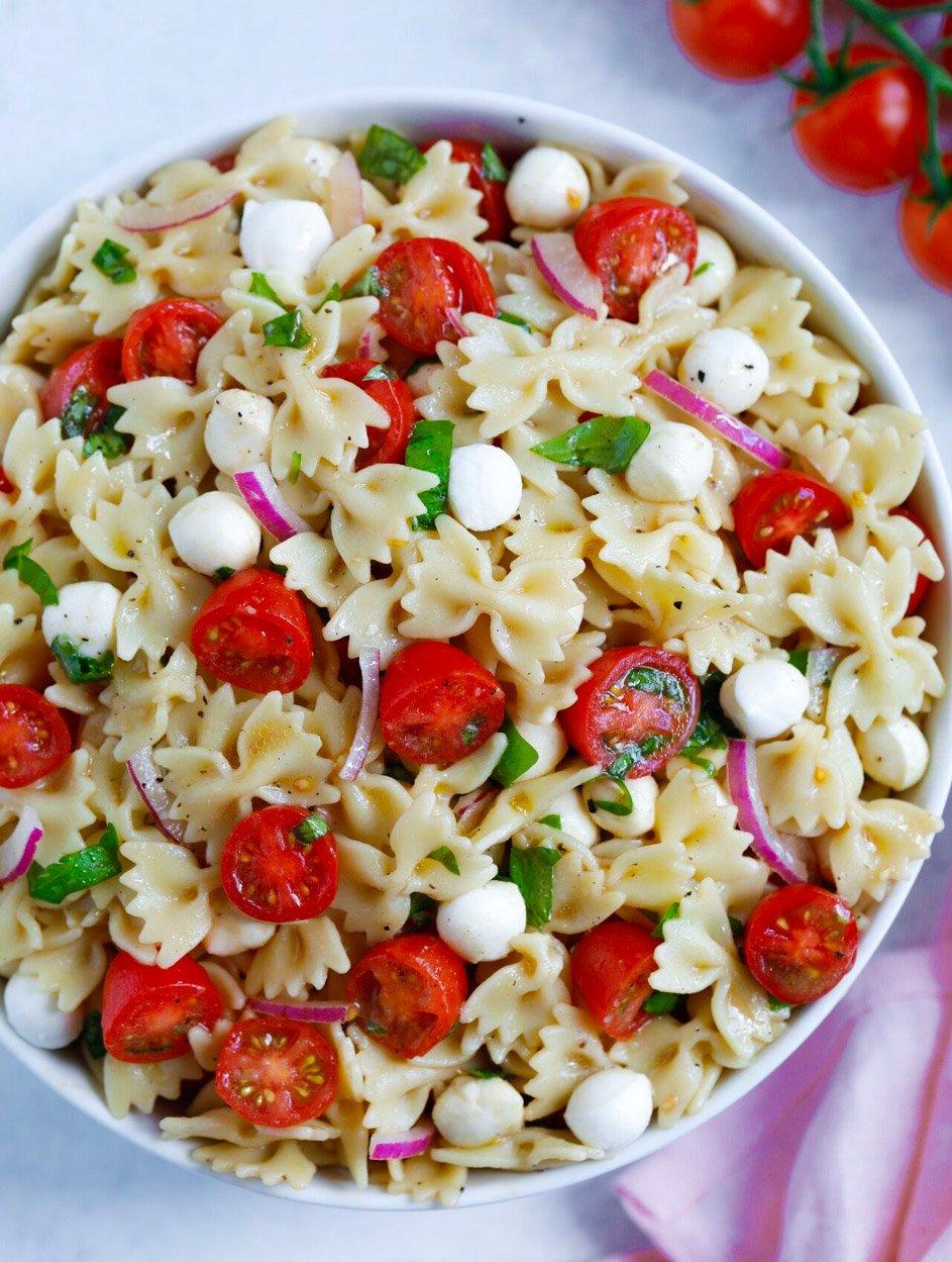 Summer Caprese Pasta Salad