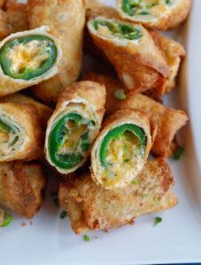 Jalapeno Popper Egg Rolls