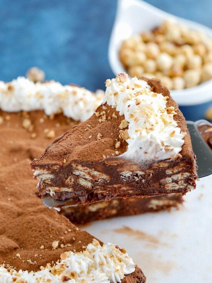 No-Bake Chocolate Cake