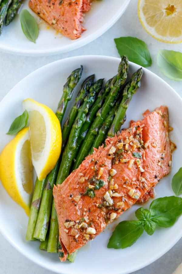 Baked Honey Garlic Salmon
