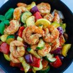 Shrimp and Vegetable Skillet