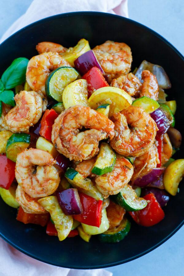 Shrimp and Vegetables