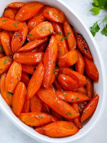 Brown Sugar Glazed Carrots Favorite Side Dishes