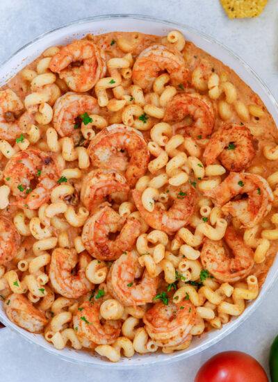 Creamy Shrimp Salsa Pasta