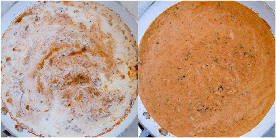 creamy salsa sauce