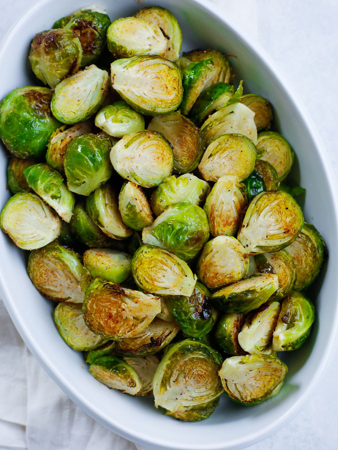 Roasted Brussels Sprouts Recipe Cookin With Mima