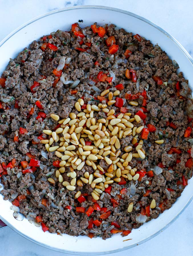 ground meat stuffing