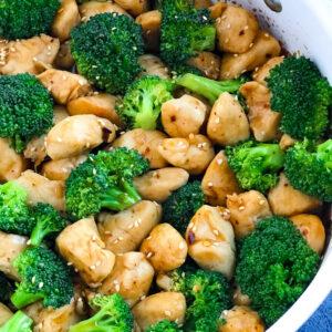 Spicy Teriyaki Chicken with Broccoli recipe