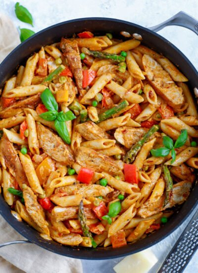 Spicy Chicken Chipotle Pasta
