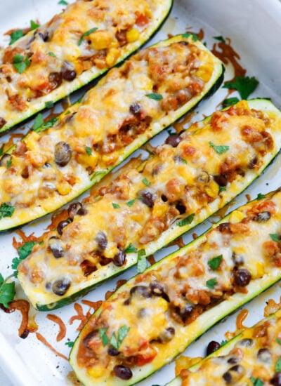 Baked Southwest Zucchini Boats Recipe