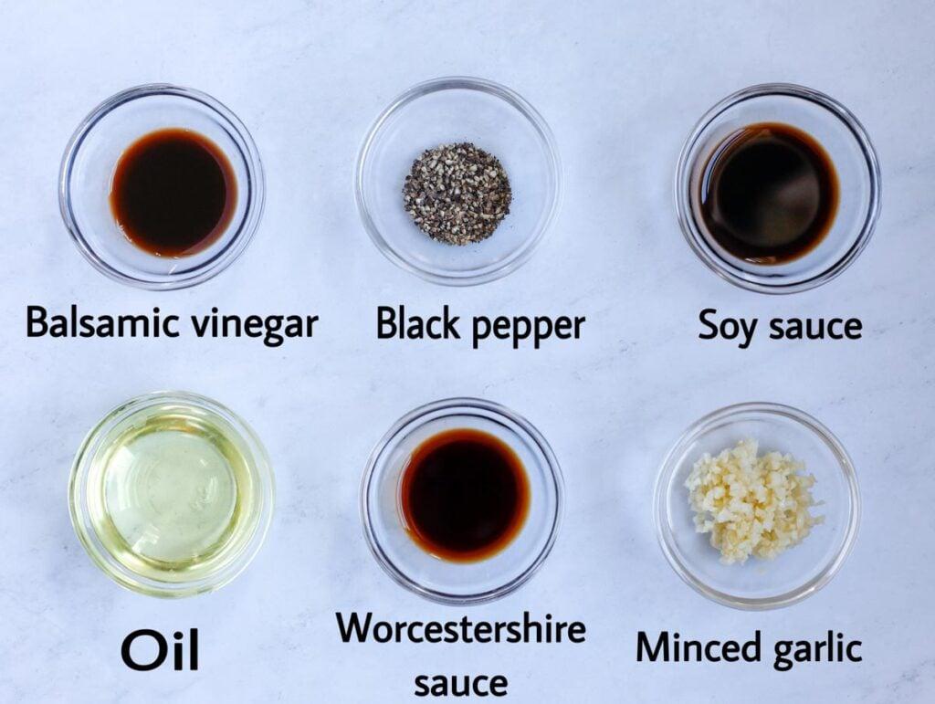 Marinade ingredinets