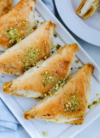 Crunchy, dreamy, sweet and absolutely DELICIOUS Lebanese Shaabiyat