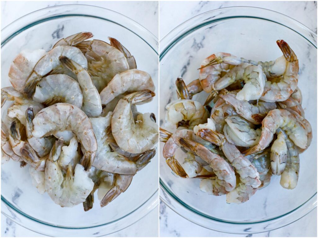 shrimp in a bowl