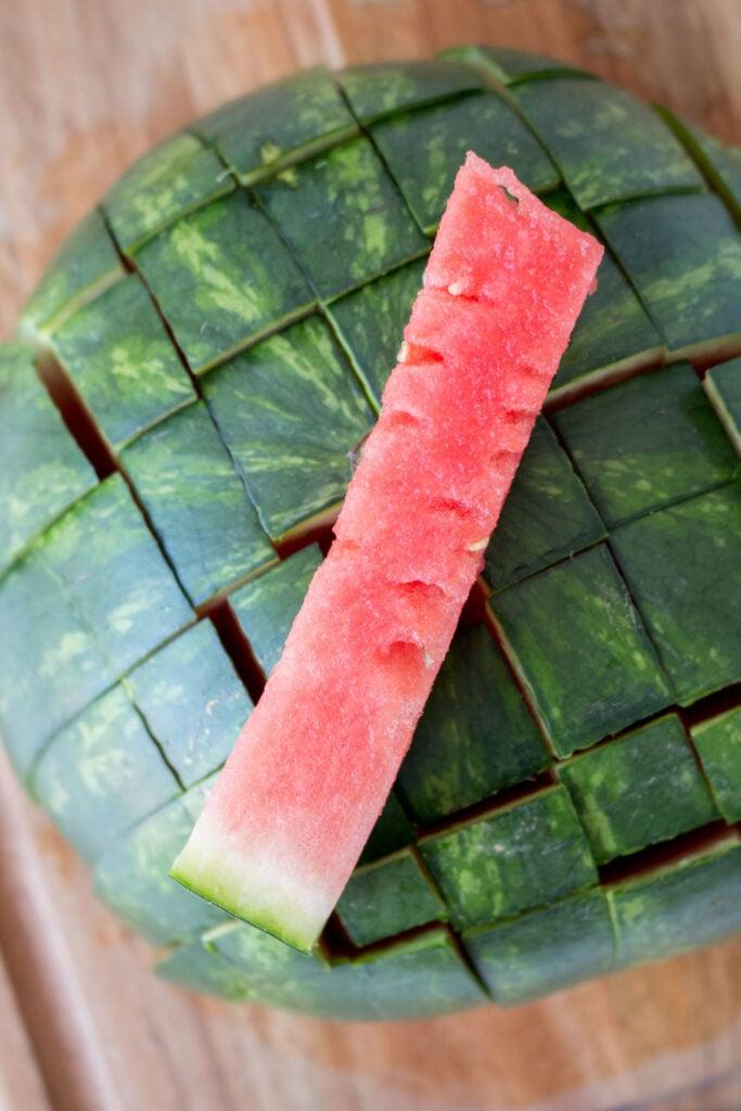 stick of watermelon
